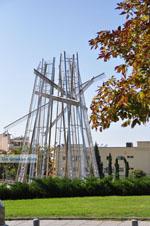 GriechenlandWeb.de Metalen monument | Thessaloniki Macedonie | GriechenlandWeb.de foto 42 - Foto GriechenlandWeb.de