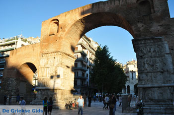 Galerius boog Thessaloniki - Foto van De Griekse Gids