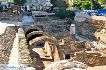 De oude markt - Romeins forum   Thessaloniki Macedonie   De Griekse Gids foto 10 - Foto van De Griekse Gids