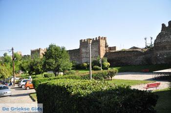 Byzantijnse muren bovenstad | Thessaloniki Macedonie | De Griekse Gids foto 47 - Foto van De Griekse Gids