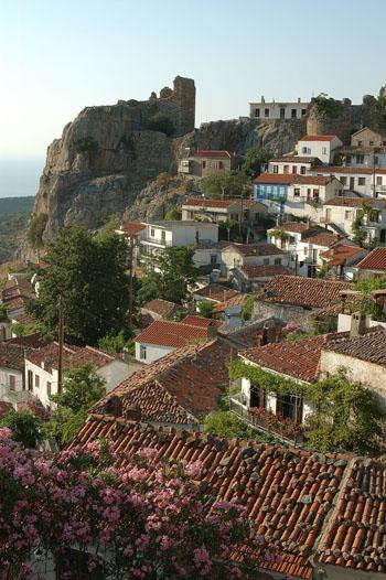 Oude stad Samothraki | Griekenland | Foto 1 - Foto van Region of Eastern Macedonia and Thrace
