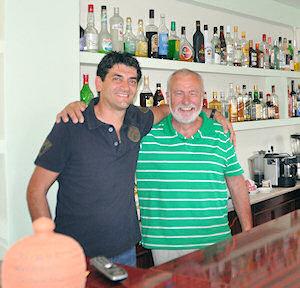 Met Leon Sijbers op de foto