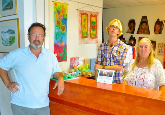 Kostas Mavrikis, Colin Oosterveld en Marianne Oosterveld