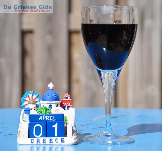 Griekse wijn bij Alber heijn - 1 april