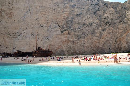 Strand scheepswrak van Zakynthos