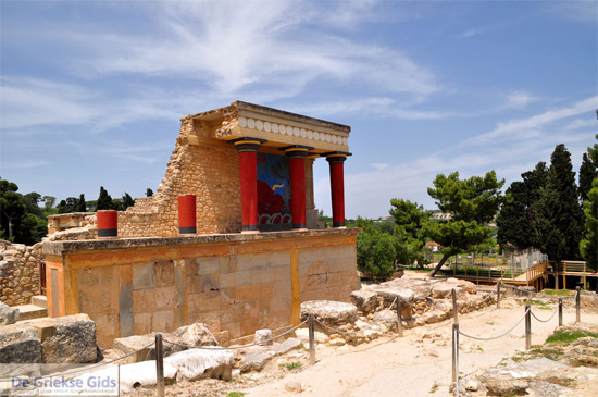 Knossos bij Heraklion (Kreta)