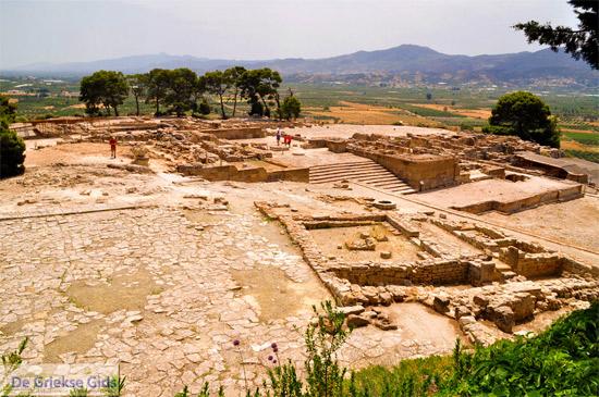 Phaistos (Festos) bij Matala en Agia Galini (Kreta)