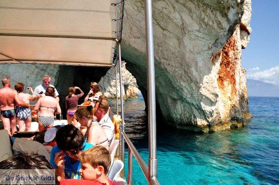 Bootje Blue Caves Zakynthos