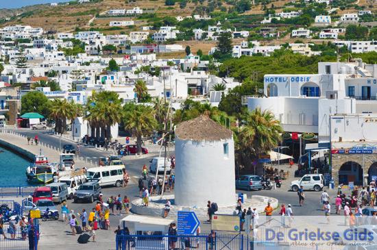 Parikia, de hoofdstad van Paros