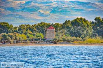 De molen bij Lambi beach op Kos - De Griekse Gids - Foto van De Griekse Gids