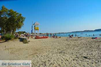 Agios Georgios strand Naxos - St. George Beach Naxos   - Foto van De Griekse Gids