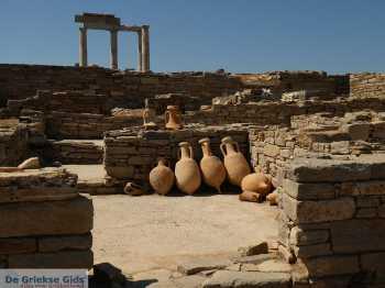 Delos - De Griekse Gids - Foto van Mariet Hoeve.
