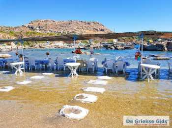 Nikolas Beach Rhodos - Dodecanese Foto van Patrick van der Tol - Foto van Nikolas Beach Rhodos - De Griekse Gids