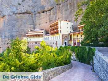 Kalavrita (Achaia) - Kato Zachlorou - Mega Spileo klooster - Foto van Theo Mocking
