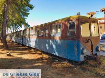 Kalavrita (Achaia) - Kalavrita oud treintje dat van Diakofto naar Kalavrita rijdt. - Foto van Theo Mocking