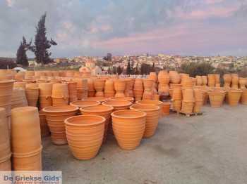 Ambachtelijke Terracotta potten Thrapsano Kreta - De Griekse Gids - Foto van Andreas Dorgiomanolakis