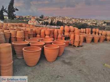 Ambachtelijke Terracotta potten Thrapsano Kreta - De Griekse Gids - Deel 2 - Foto van Andreas Dorgiomanolakis