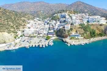Agia Galini (Rethymnon Kreta) -  Luchtfoto - Foto van De Griekse Gids