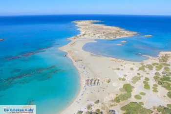 Elafonisi (Chania Kreta) - Foto van De Griekse Gids