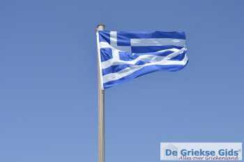 Griekse vlag - Vlag van Griekenland - Foto van De Griekse Gids