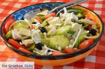 Griekse salade - choriatiki - De Griekse Gids - Foto van De Griekse Gids