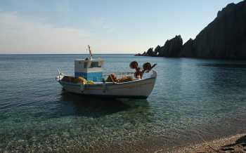 Vissersbootje Eiland Psara - Griekenland -  Foto 2 - Foto van Mr. G. Malakós