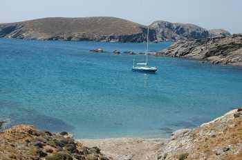 Baai op eiland Psara - Griekenland -  Foto 3 - Foto van Mr. G. Malakós