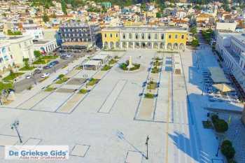 Zakynthos stad Zakynthos - Ionische eilanden - Plein in het centrum van de stad - Foto van De Griekse Gids