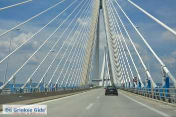 Rio-Antirrio brug - De brug Rio Antirio  - Foto van De Griekse Gids