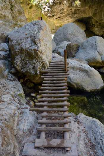 Dimosari watervallen - Kataraktis bij Nidri Lefkas - Foto 7 - De Griekse Gids - Foto van De Griekse Gids