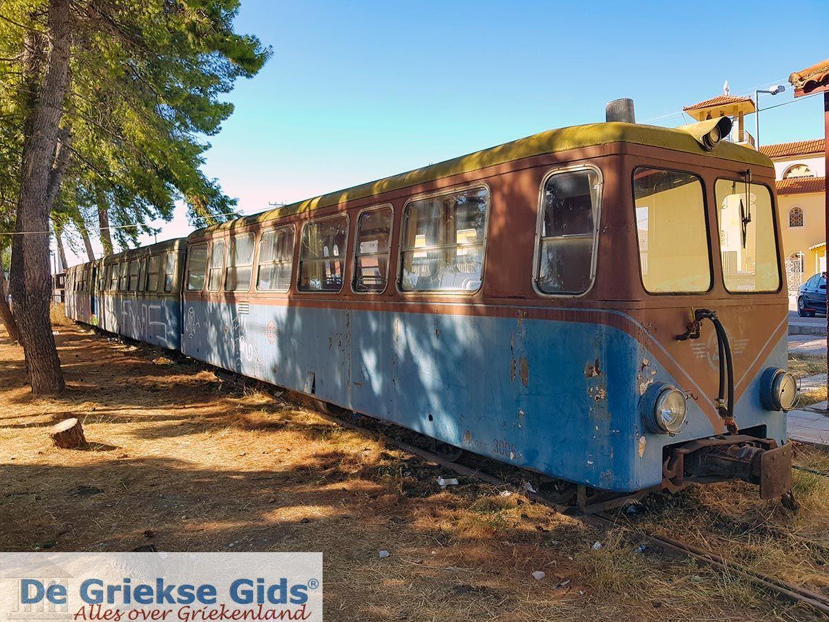 foto Kalavrita (Achaia) - Kalavrita oud treintje dat van Diakofto naar Kalavrita rijdt.