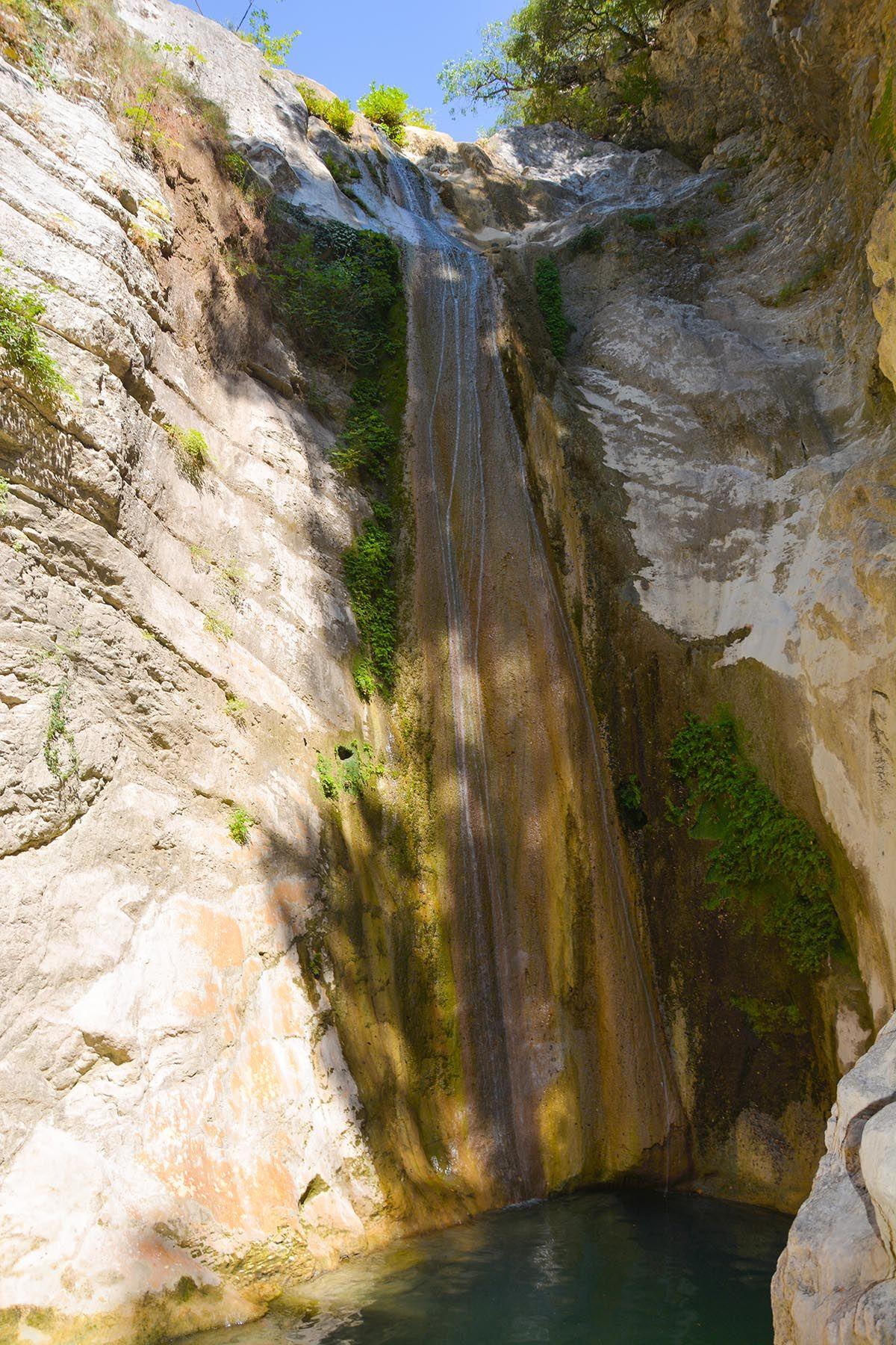 foto Dimosari watervallen - Kataraktis bij Nidri Lefkas - Foto 2 - De Griekse Gids