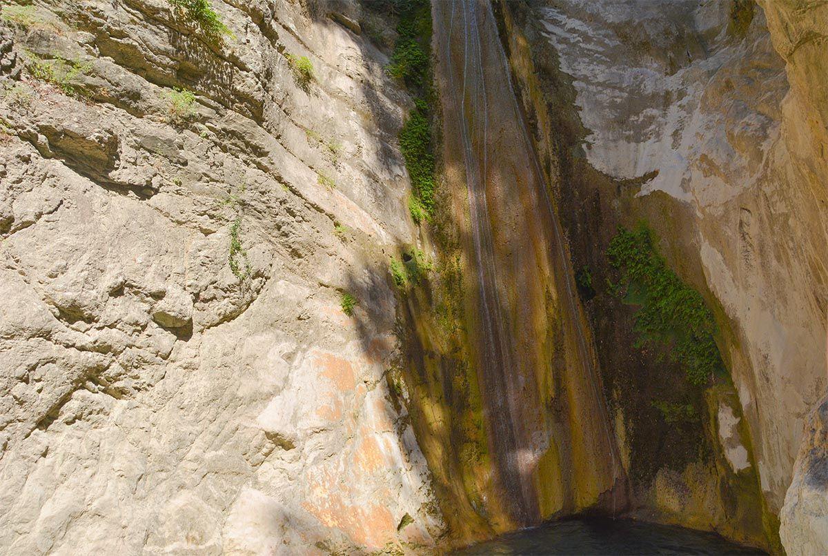 foto Dimosari watervallen - Kataraktis bij Nidri Lefkas - foto 4 - De Griekse Gids