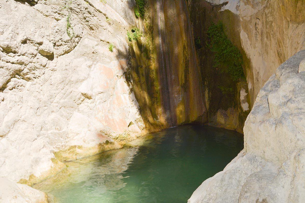 foto Dimosari watervallen - Kataraktis bij Nidri Lefkas - foto 5 - De Griekse Gids