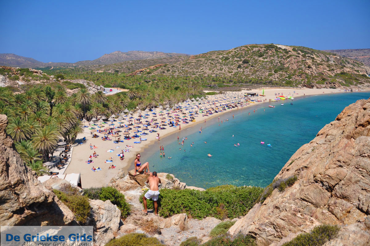 Vai Beach, Crete - YouTube