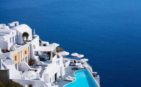 Katikies Villa's Oia Santorini