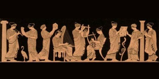 Griekse muziek muzen