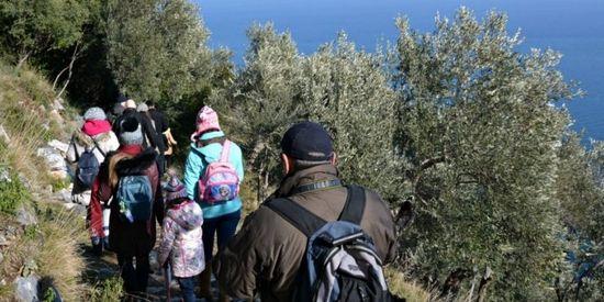 Wandelen in Griekenland in de winter
