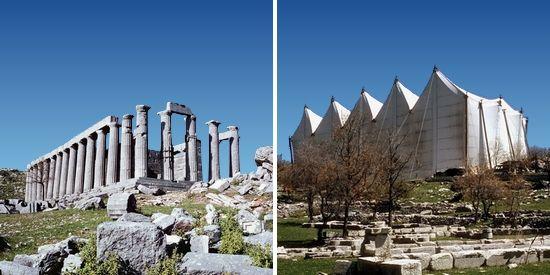 Bassai tempel Apollo Epikourios