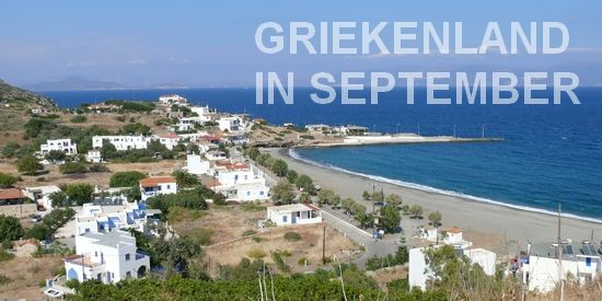 September in Griekenland