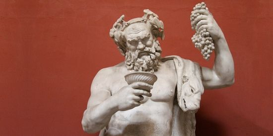 Dionysos of Bacchus in Vaticaans museum