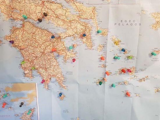 Kaart Griekenland Griekse Gids Reizen