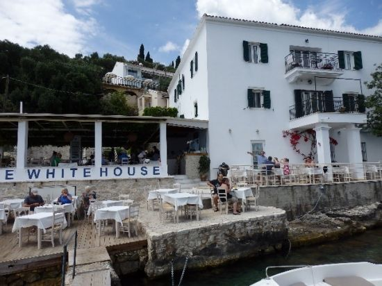 White house Corfu