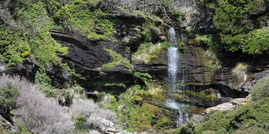 Andros natuur waterval