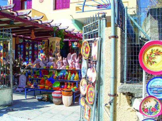 Aardewerk op Chios