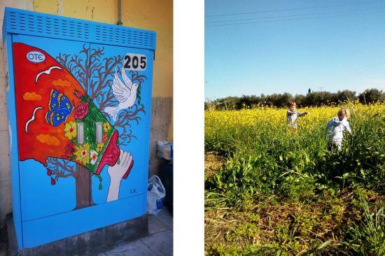 Kunst en kids op Zakynthos