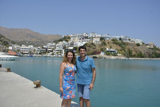 Jorgos en Wendy van De Griekse Gids in Agia Galini Griekenland