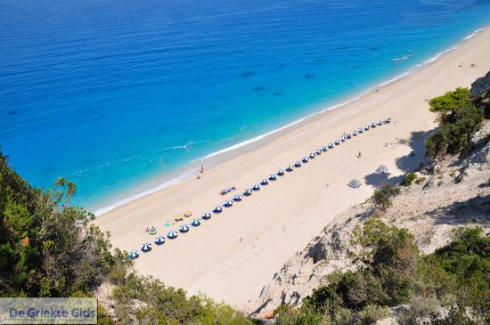 Lefkas Egremni strand