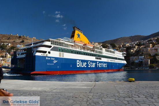 Ferry boot in Griekenland