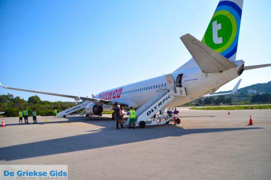 Transavia vliegtuig Sunweb in Griekenland